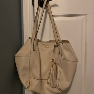 White Michael Kors Handbag